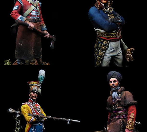 Cuatro figuras para un confinamiento