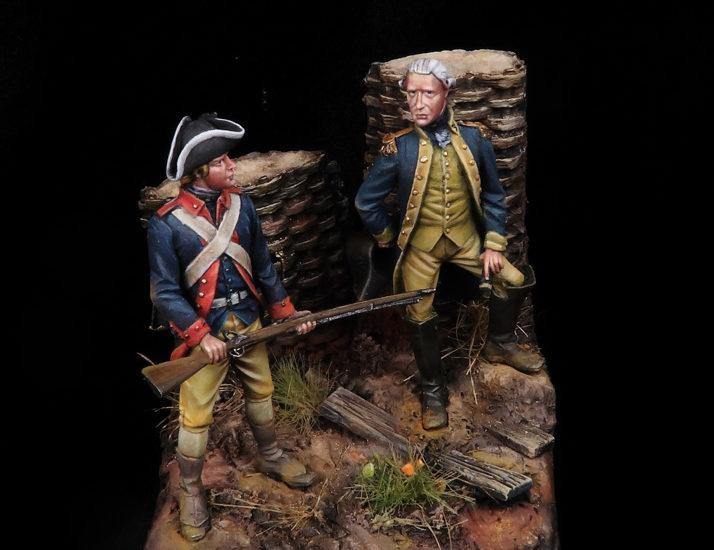 La batalla de Saratoga