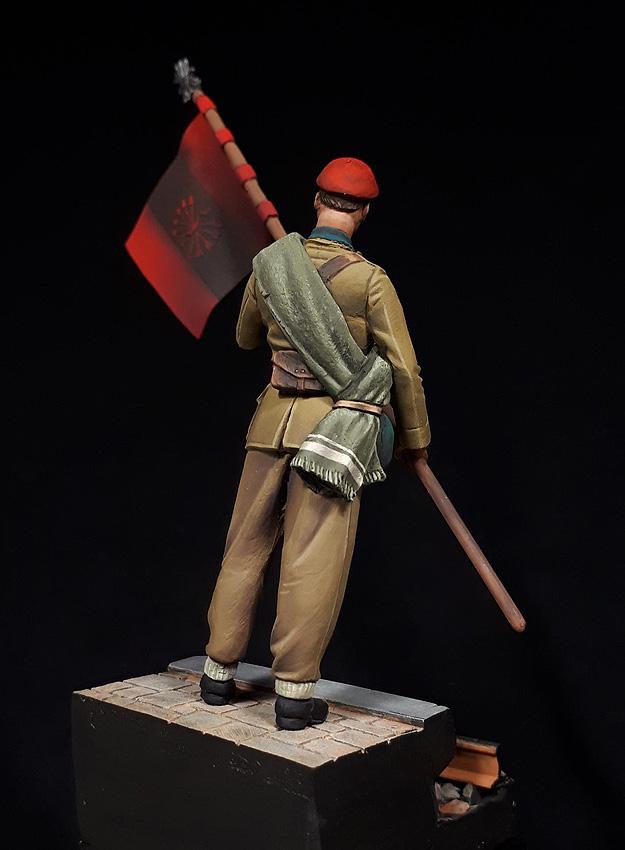 División Azul en uniforme de partida, 1941