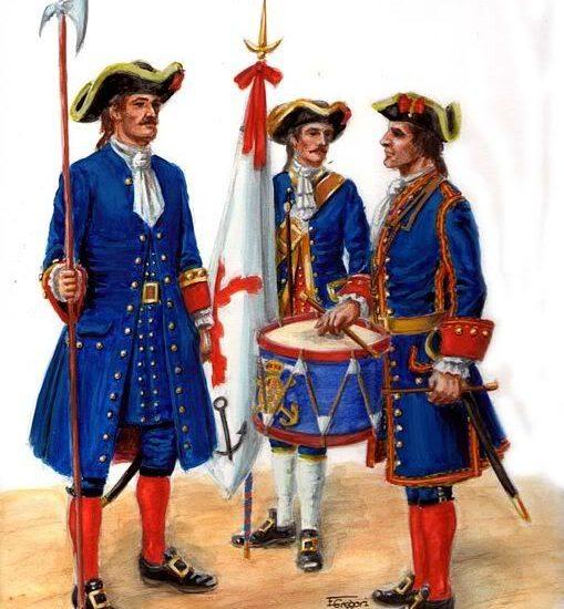 Batallones de Marina 1717-1720