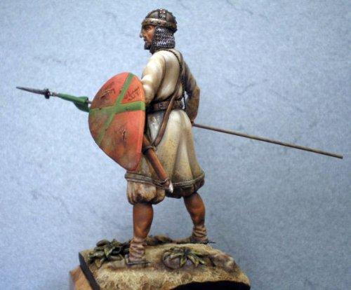 Califato de Córdoba, Soldado Andaluz a caballo - Siglo X
