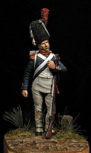 Carabinier Infantería Ligera 1805