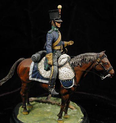 Cazador de la Legión Extremeña, España 1810
