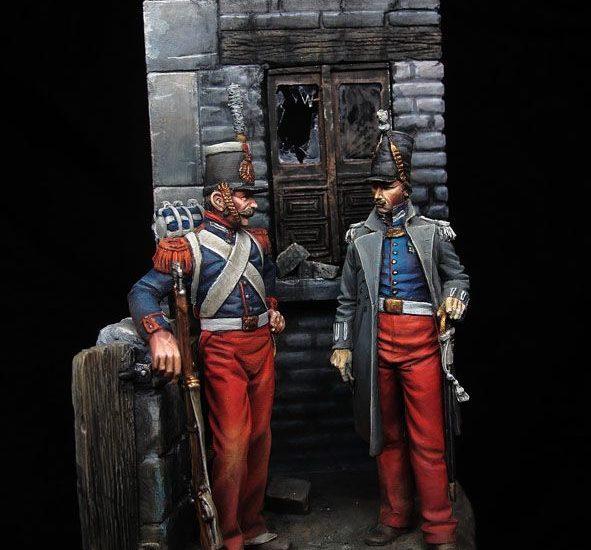Granaderos Guardia Real isabelina (y II)