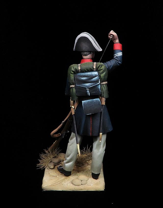 Guardia en uniforme de Servicio, 1855