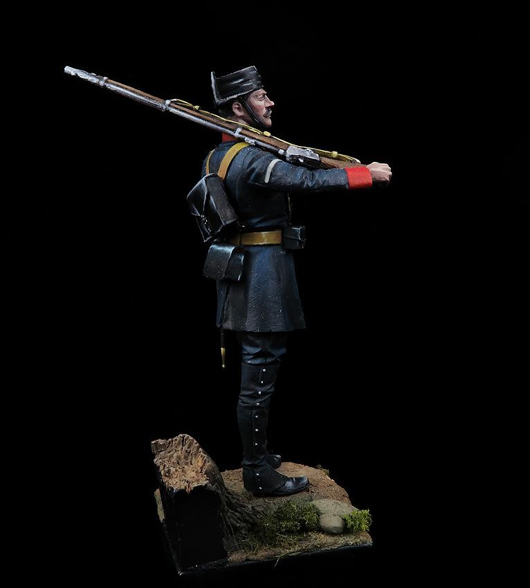Guardia en uniforme de Servicio, 1890