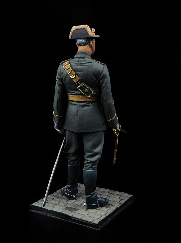 Comandante en uniforme de Gala, 1943