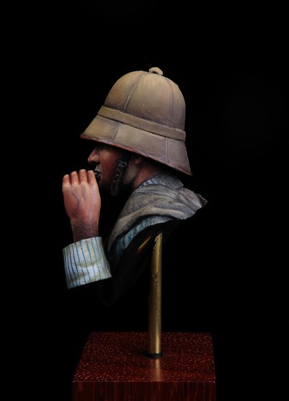 Campaña de África,1910. Soldado Regimiento San Fernando n°11