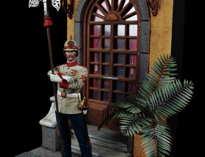 Alabardero de la Guardia del Capitán General (Filipinas h.1886)