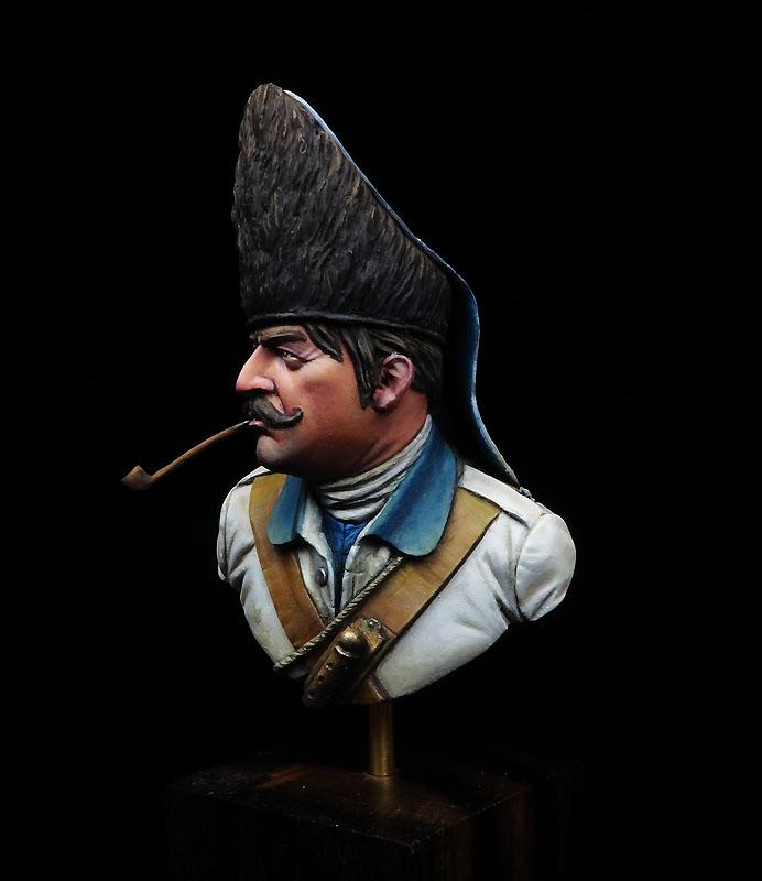 Granadero español, 1781