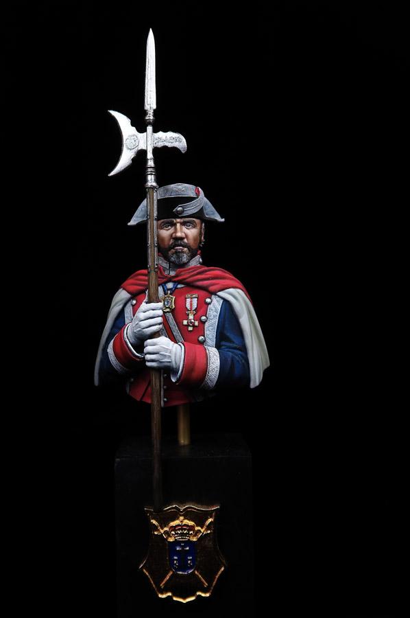 Alabardero de la Guardia Real de Felipe VI