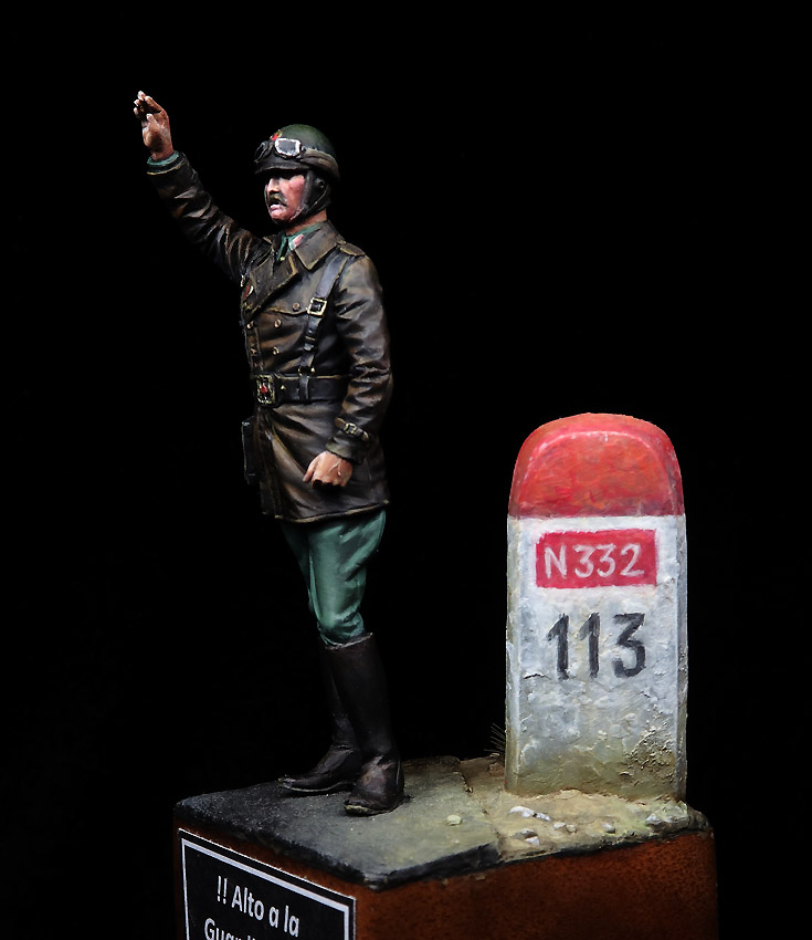 Alto a la Guardia Civil. N-332, 1963