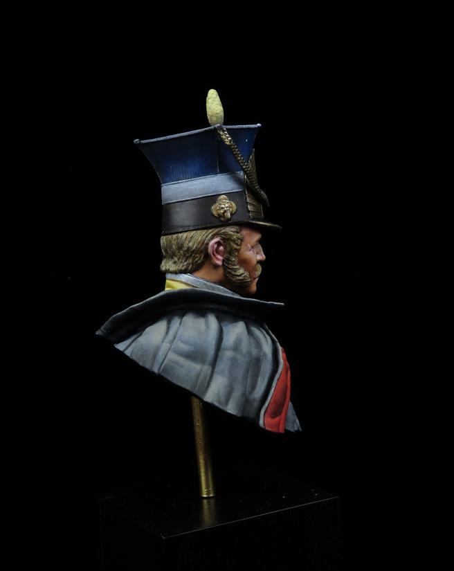 Oficial de Lanceros Francés - 1813