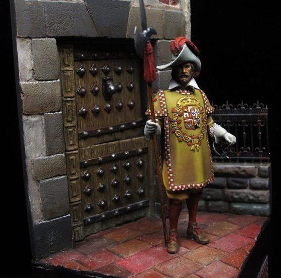 Sargento de la Coronelía del rey Felipe IV