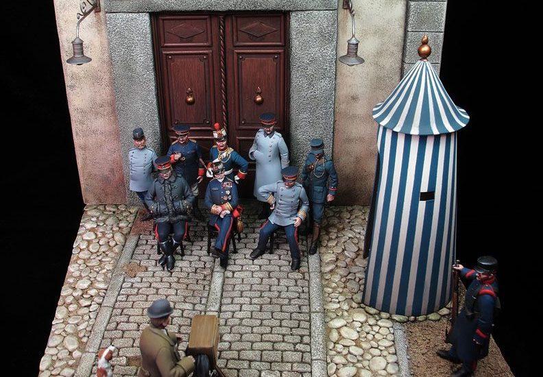 La Academia de Artillería – Puerta de Dia Sanz (principios del siglo XX) – (2/2:Pintura)
