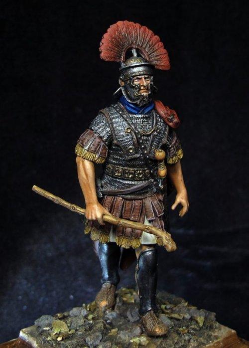 Roman Centurion Legio XX Valeria Victrix, 1st Century AD