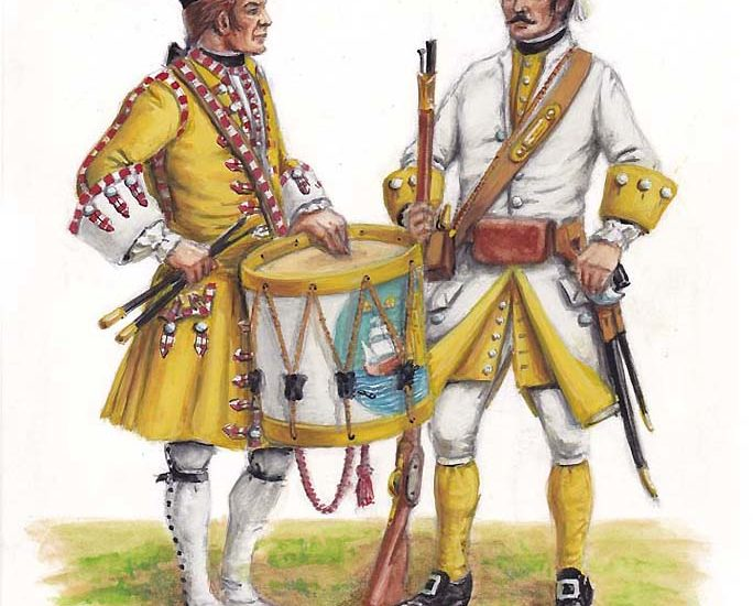 Milicias Provinciales del reinado de Felipe V (1734-1746)