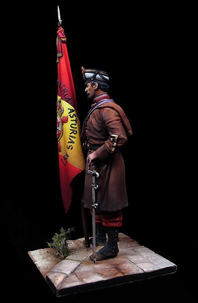 Abanderado regimiento Asturias
