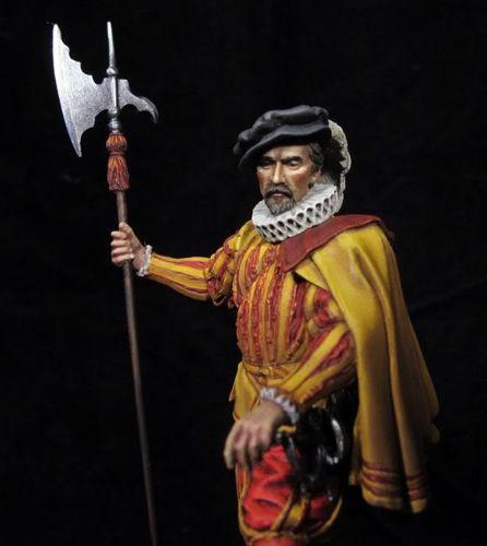 Alabardero Carlos I. Guardias españolas