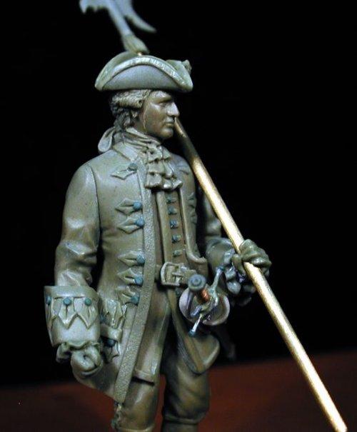 Alabardero de la Guardia Real de Felipe V - España