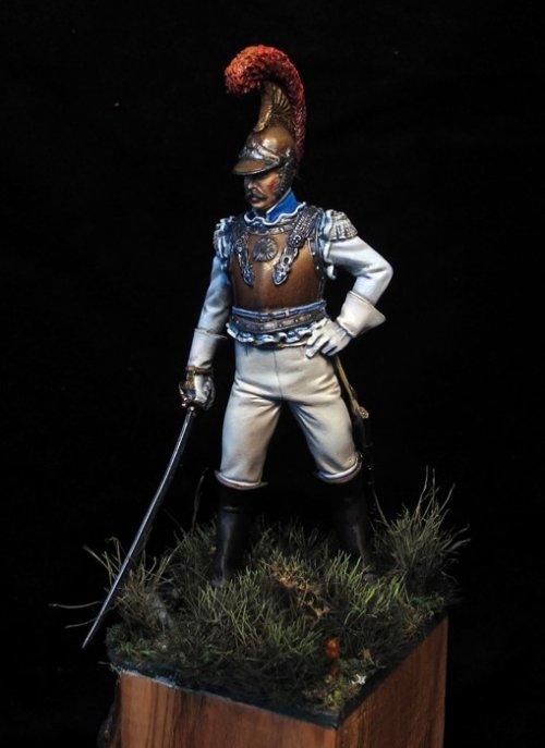 Oficial de Carabineros, Francia 1811