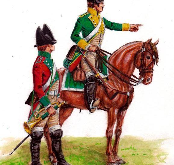 1800. Los Regimientos de Dragones