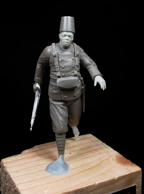 Guardia Colonial Indígena. Guinea 1907