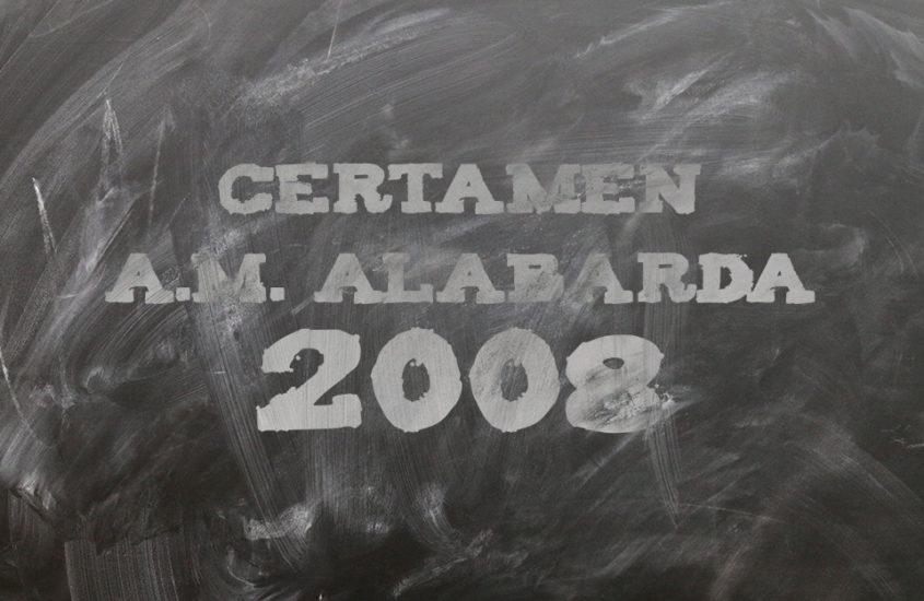 Certámen A.M. Alabarda 2008