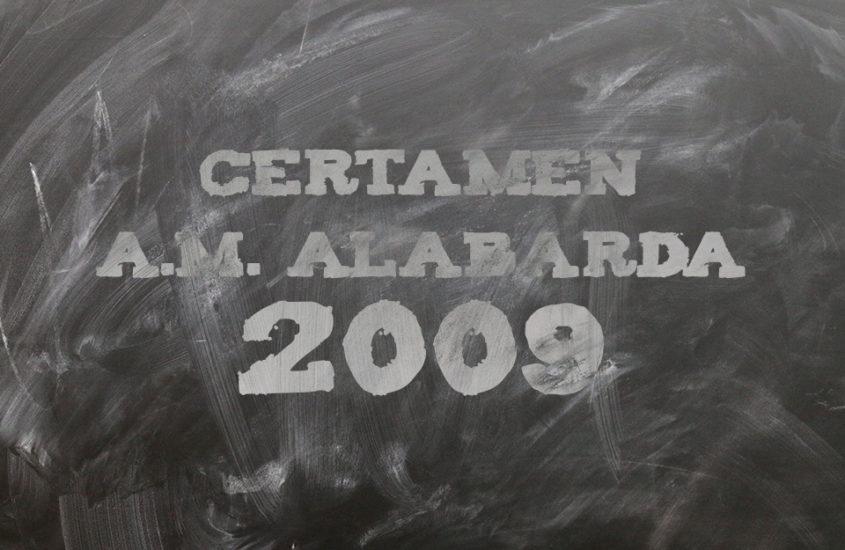 Certámen A.M. Alabarda 2009