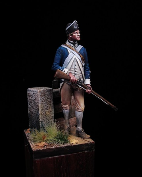 Infantryman Hartley's Regiment 1777
