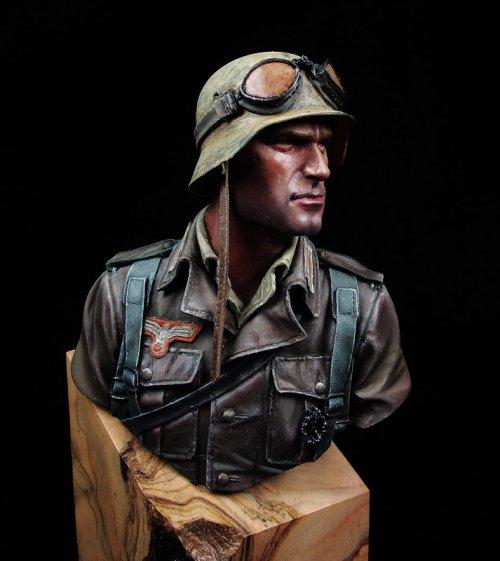 German DAK Infantry Noth Africa WWII