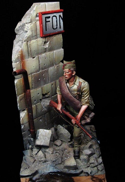 Soldado nacional, 1936