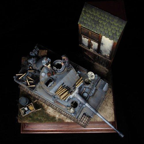 Tiger I. 502º Batallón de carros pesados