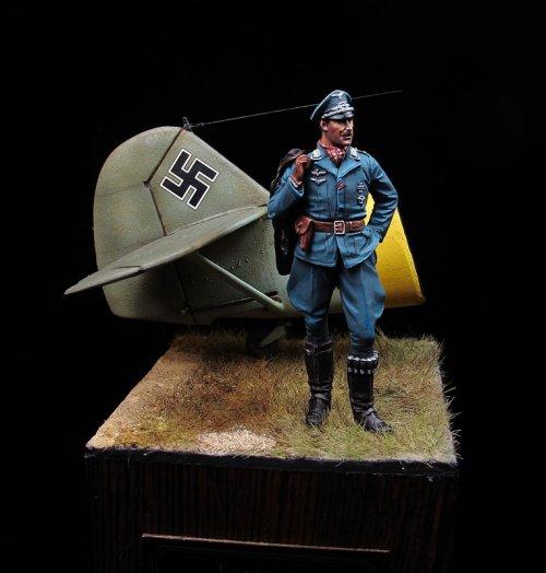 Teniente Escuadrilla Azul