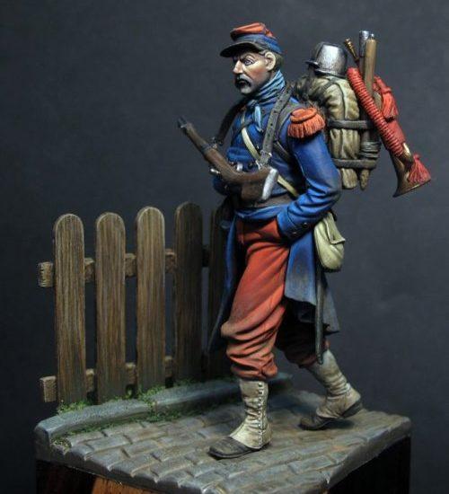 Infante francés. Guerra Franco-Prusiana