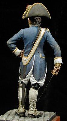 Oficial de la Milicia de Cádiz, 1797