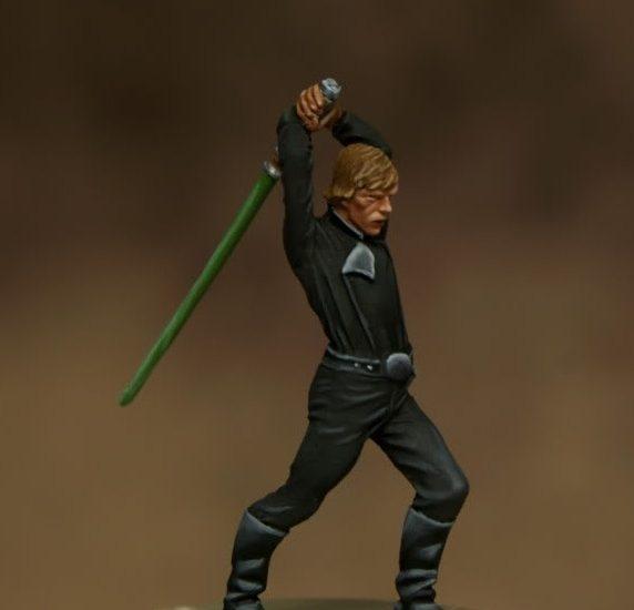 Luke Skywalker –  30 mm.