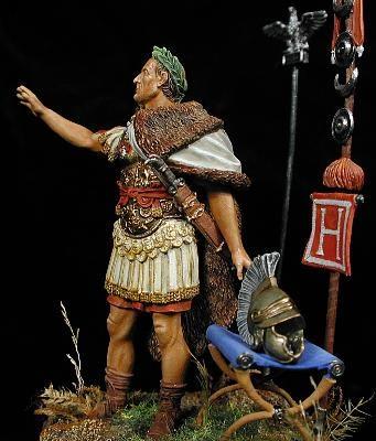 Julio César en campaña