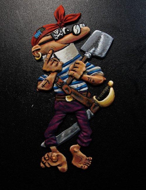 Mortadelo pirata