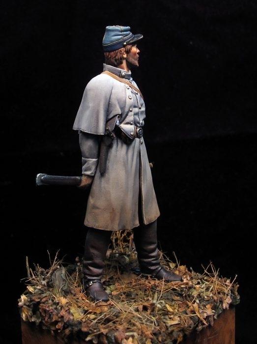 Oficial Confederado, CSA 1862