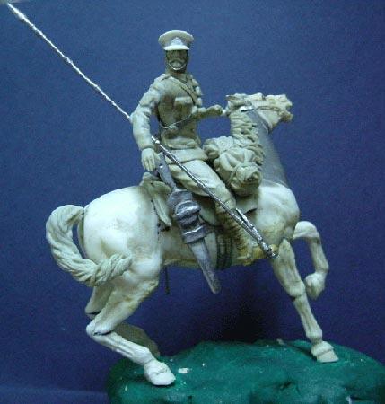Sargento del 16º de Lanceros, 1914