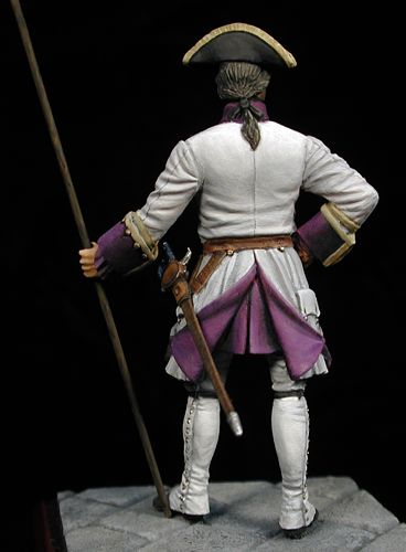 Sargento de Infantería - España, 1735 - Reinado de Felipe V