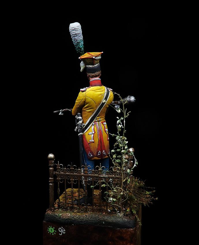 Tambour major, 17th leger 1808