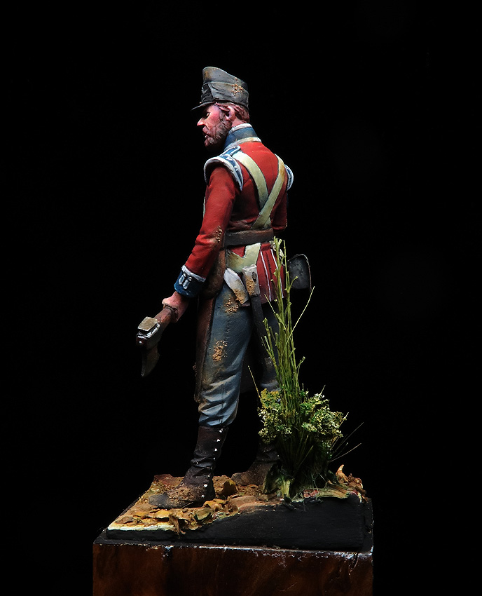 Pioneer Corporal, Coldstream Guards, Waterloo 1815