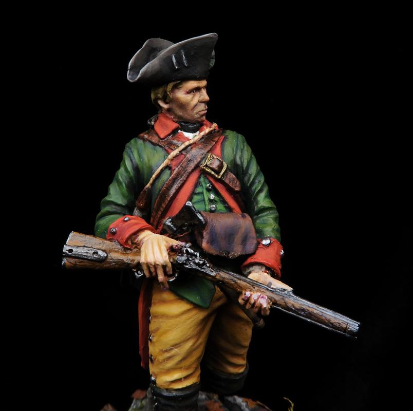 Hessen Cassel Jäger Rgto, 1777
