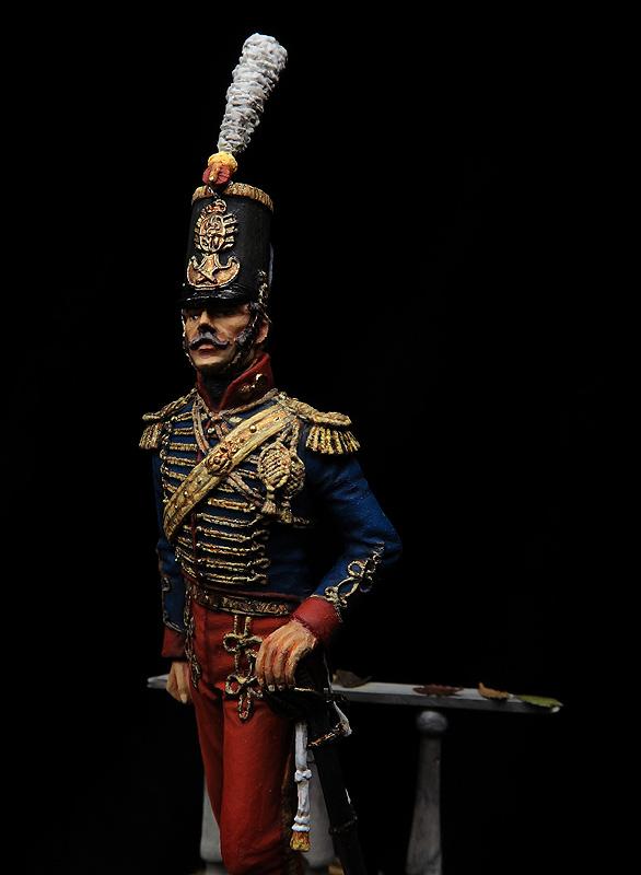 Oficial de Artillería, 1836