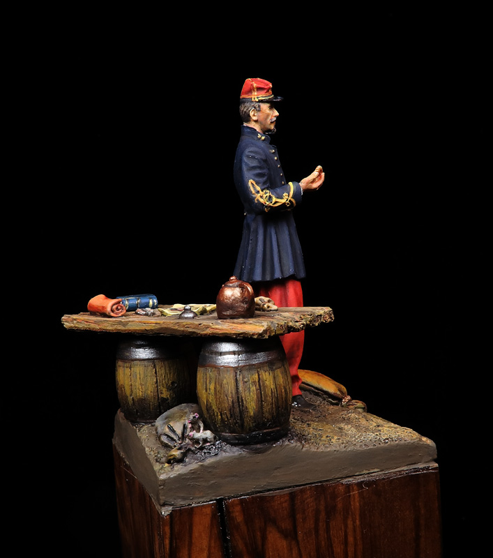Captain D'Ánjou, 1863