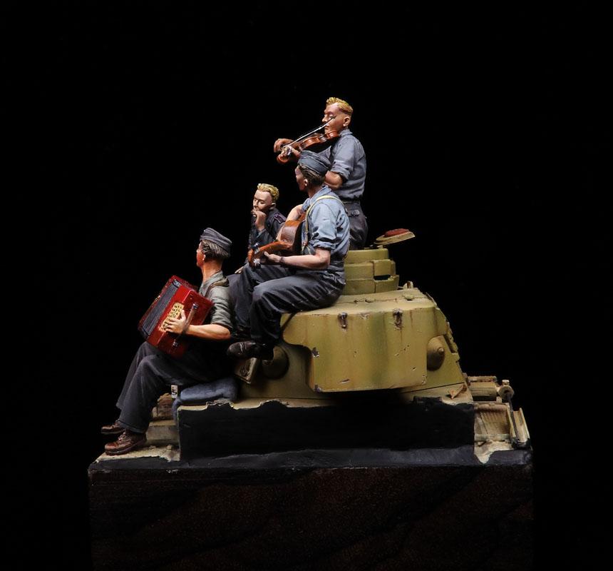 La música amansa a los Panzers