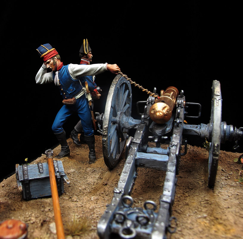 Artillería Española, 1809