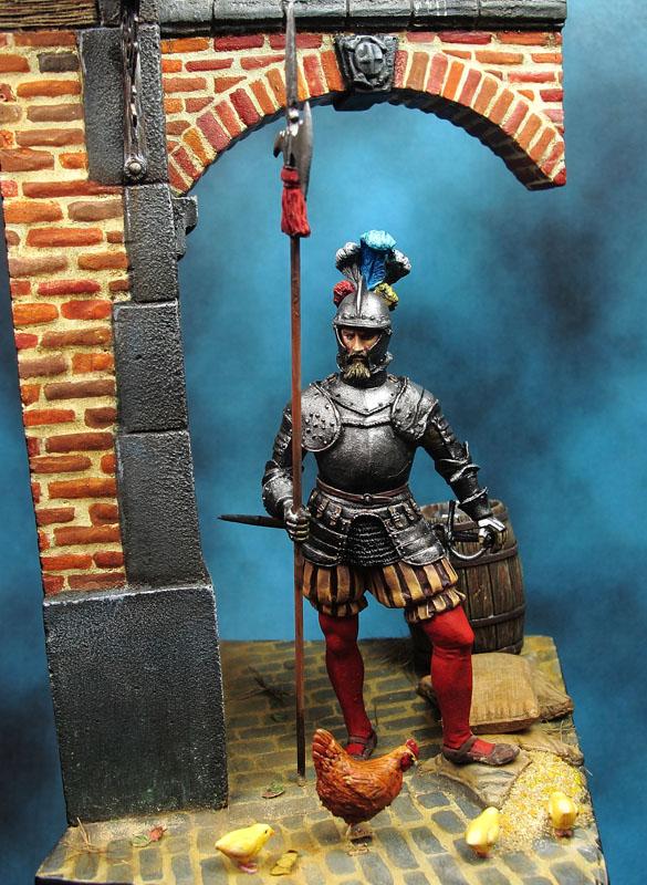 Alabardero de Pavía